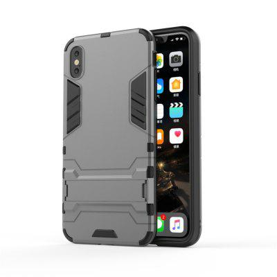 Voor iPhone X mobiele telefoon Case bracket shell Drop Protection Hard Shell