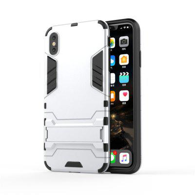 Voor iPhone Xs Mobiele telefoon Case bracket shell Drop Protection Hard Shell