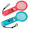 2PCS Game Twin Pack Tennis Racket for Nintendo Switch Joy-Con Controller Gamepad - MULTI