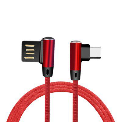 4A Snel opladen USB 3.1 Type-C Data Sync gamingkabel voor Oneplus 6T / 6 / 5T / 5