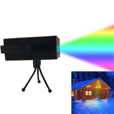Outdoor Music Induction Colorful Waterproof Laser Light Decoration Projector US