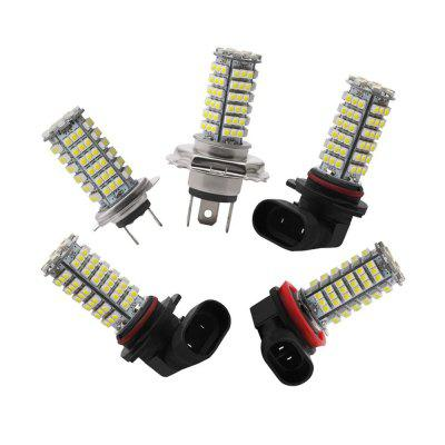 Pair H4 H7 H8 H11 9005 9006 102SMD Car LED Fog Light Replacement Headlight Bulbs