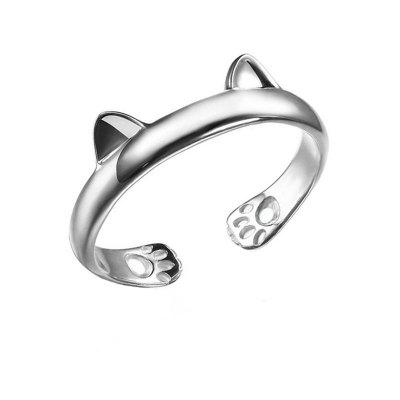 Fashionable Exquisite Male Cat Ring