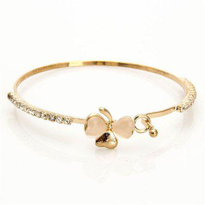 Elegant Lady Fashion Bow Cat Eye Bracelet