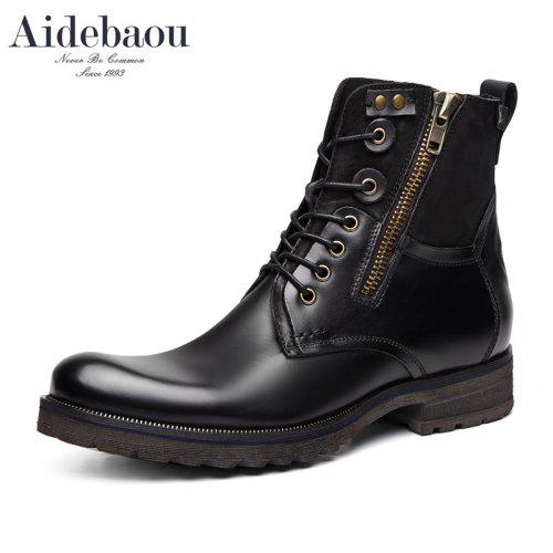 Aidebaou Red wing Bottes homme Bottes moto
