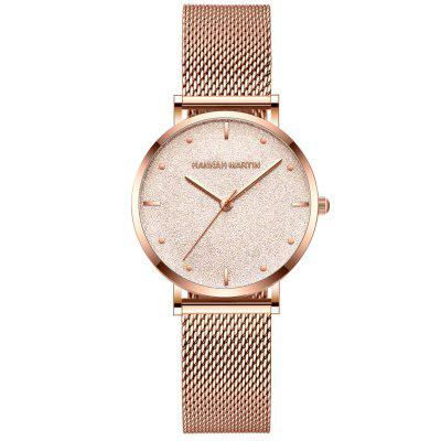 Brand Fashion waterproof Japanese Movement Stainless Steel Band Women's Watch