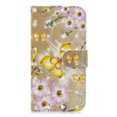 Case for Iphone 5 / 5S / SE 3D Painted Flip Wallet Leather Phone Case