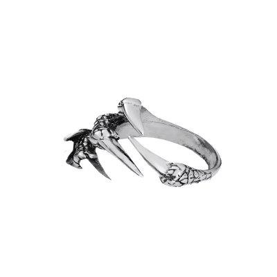 Tendance exagération hommes Open Dragon Claw Ring