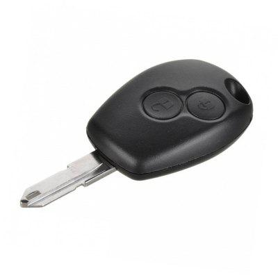 New Replacement 2 Button Remote Key Card Shell For Renault