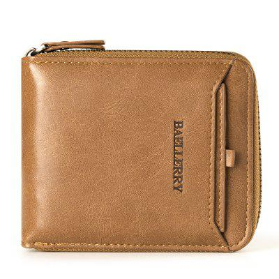 Baellerry Short Purses with Card Cover Multifunctional Wallets