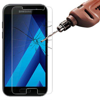 2 Pcs 2.5D 9H Tempered Glass Screen Protector Film for Samsung Galaxy A5 2017