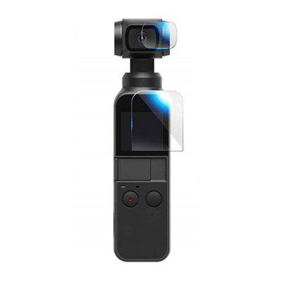 2.5D 9H Tempered Glass Lens Screen Protector Film for DJI OSMO Pocket Gimbal