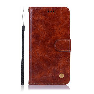 do Asus Zenfone Max Pro M2 ZB631KL Sprawa Fashion PU Flip Wallet Leather Cove