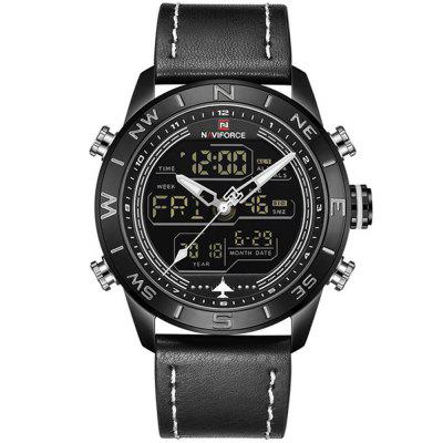 Top Luxury Brand Men'S Military Waterproof LED Sports Quartz Watch