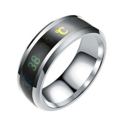 Anello sensibile al calore Sensibile alla temperatura Emotion Mood Rings