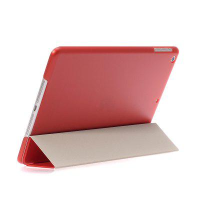 For iPad Air1 Lightweight Slim Shell Translucent Back Cover Protector