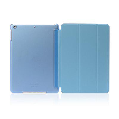 For iPad 9.7 Lightweight Slim Shell Translucent Back Cover Protector