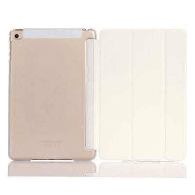 For iPad Mini4 Lightweight Slim Shell Translucent Back Cover Protector