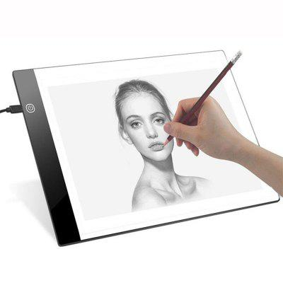 A4 LED Graphic Tablet Digital Tracing Drawing Board Table Painting Pad