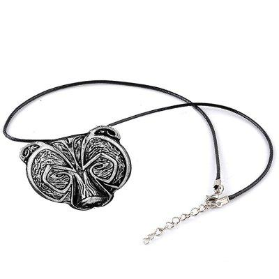 Punk Trend Retro Men's  Head Necklace