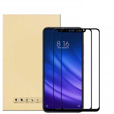 2PCS For Xiaomi 8 Lite Full Cover Glass Screen Protector