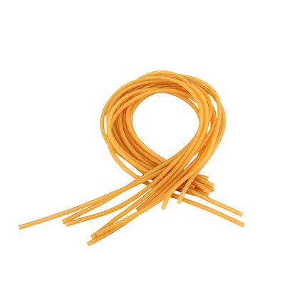 Yellow Rubber Tubes for Bamboo Hammers/Beaters of Yangqin (Chinese Dulcimer)