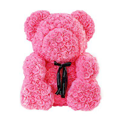 Rose Bear Bear Flower Everlasting Flower Valentine's Day Gift