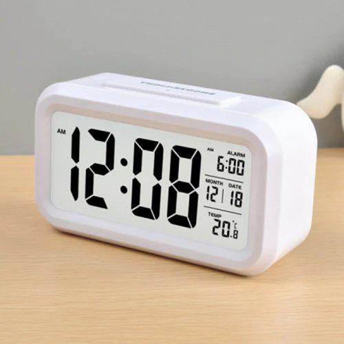 Timer Calendar Temperature Alarm Clock for Bedroom