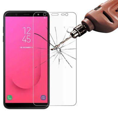 5 Pcs Tempered Glass Screen Protector Film for Samsung Galaxy J8 2018