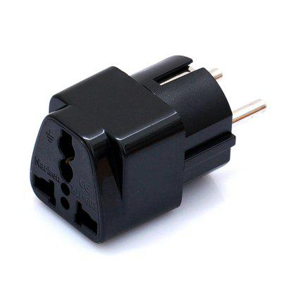 Minismile 2500W Copper EU Plug 2 Feet Standard Travel Power Adapter Charger