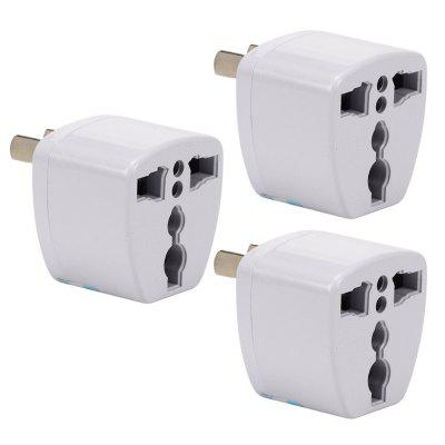 3 SZTUK US / UK / EU / AU to AU Plug Socket Charger AC Travel Power Adapter Converter