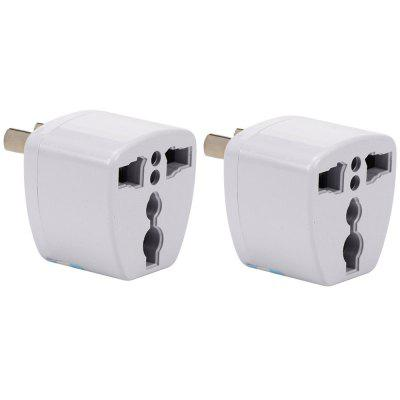 2PCS US/UK/EU/AU to AU Plug Socket Charger AC Travel Power Adapter Converter