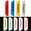 4 STKS Waarschuwing Mark Autodeur Decals Veiligheid Reflecterende Stickers - ROSSO RED