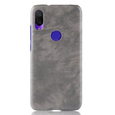 Litchi Leather Skin Luxury PC Hard Cover Case for Xiaomi Play