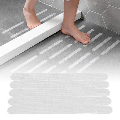 10PCS Bathroom Bathtub Staircase Transparent Anti Skid Slip Safe Tape