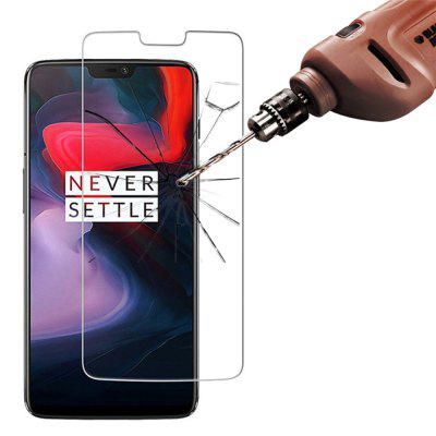 2 Pcs 2.5D 9H Tempered Glass Screen Protector Film for One Plus 6