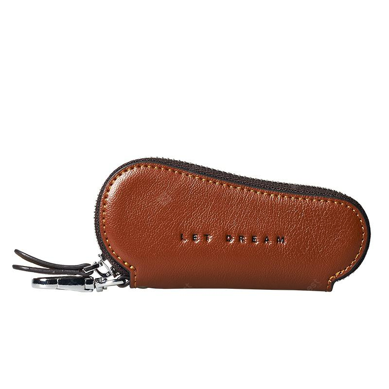 Attention 2018 New Leather Zipper Multifunctional Men'S And Women'S Car Keys