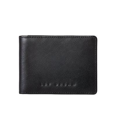 Attention 2018 New Men'S Card Bag Leather Credit Card Zipper Card Bag