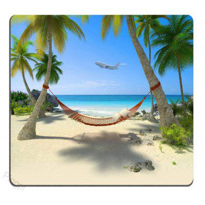 Sea View High Quality Soft   Cartoon Non Slip Rubber Gaming Mouse Pad