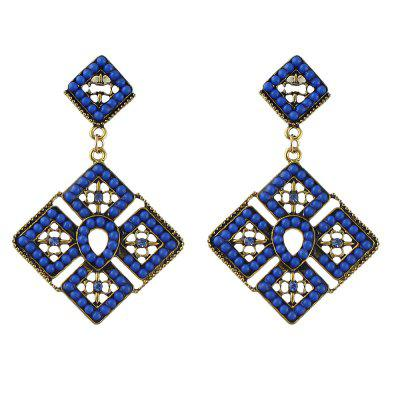 fashion beads drop earrings for women