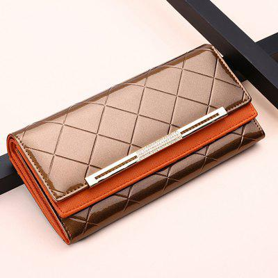 long and large capacity handbag leather wallet