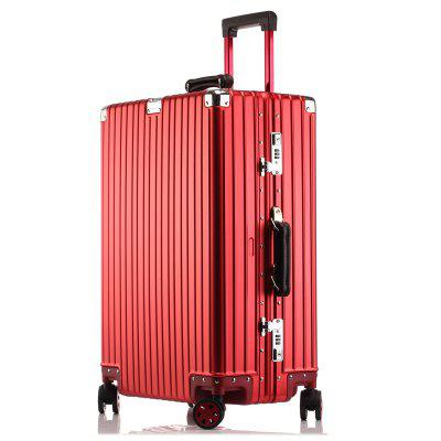 MATOM Vintage Version of All Aluminum Magnesium Alloy Suitcase