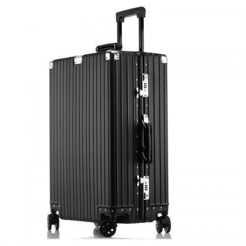 2019012918011072959 - MATOM Vintage Version of All Aluminum Magnesium Alloy Suitcase
