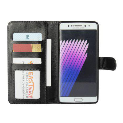 For Samsuny GALAXY Note 7 Mad Horseprint Two-In-One Flanged Protective Cover