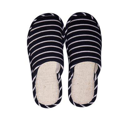 Linen midsole home slippers for men and women