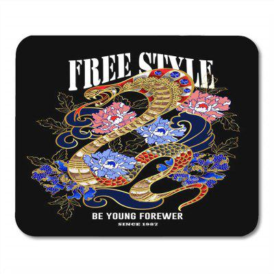 Cool Natural Rubber  Mouse Pad