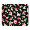 Black   Rubber  Beautiful  Patterned  Multicolor Gaming  Square  Mouse Pad - MULTI