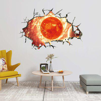 Landscape Sun Fashion Fantasy Wall Sticker