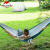 NatureHike Outdoor Camping Hunting Hammock Double Person - BLU VERDE  MACAW