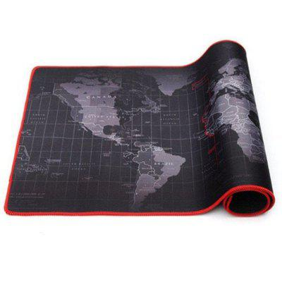 Anti-slip World Map Mouse Pad Mat